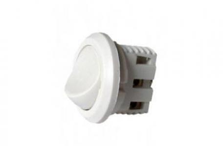 Выключатель SV.05 врезной мебельный белый