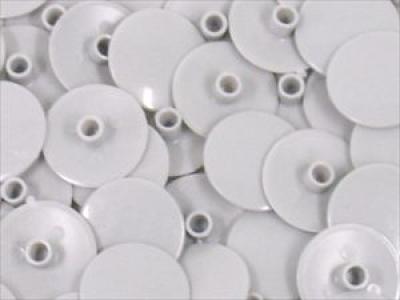 Заглушка пластиковая для конфирмата №1 белая