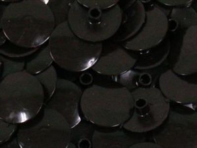 Заглушка пластиковая для конфирмата №2 черная