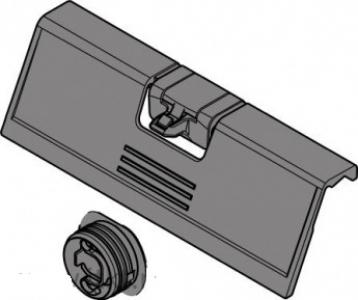 Ручка Blum с поводком (возможно открывание внутреннего ящика с внешним)