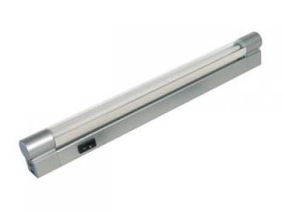 Светильник TL4018 (L-334 мм серебро с козырьком)