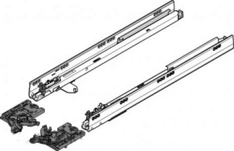 Комплект Blum TIP-ON для TANDEMBOX, нагрузка 20 кг