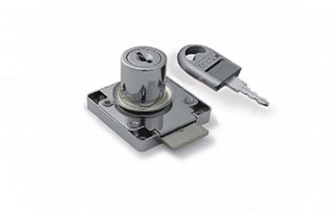 Замок Z-138 мебельный для дсп с ломанным ключом