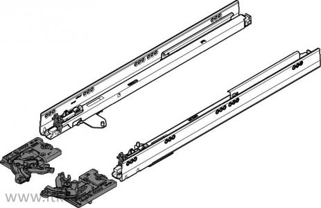 Комплект Blum TIP-ON для TANDEMBOX, нагрузка 30 кг