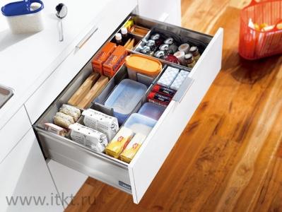 Комбинированныий ящик Blum TANDEMBOX для продуктов и бутылок (высота D)