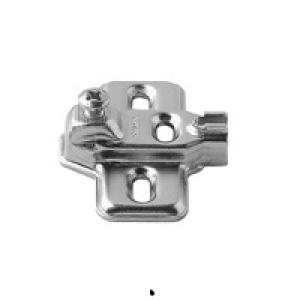 Планка Blum CLIP крестообразная под саморез, подъем 3 мм