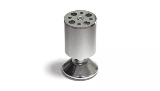 Опора N-109 метал. D-50 мм Н-100 мм мат. хром