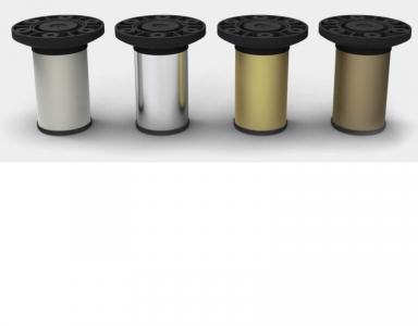 Опора N-116 алюм. D-50 мм Н-100 мм золото