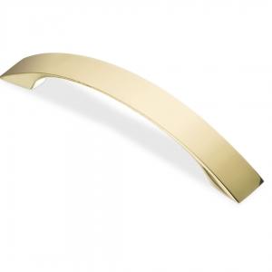 7106 Ручка скоба 96 мм золото