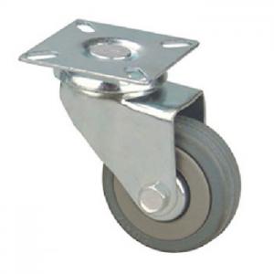 Колесо: K-128 Оборотное D-50 мм без стоп., резина
