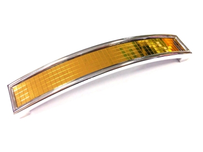 7462 Ручка скоба 128 мм золото