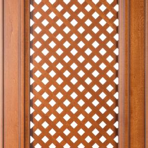 Фасад с решеткой Караваджио