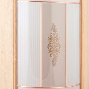 Фасад закругленный под стекло + штапик Везувио
