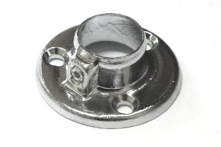 Фланец для трубы (ОП-100) D-16 мм хром