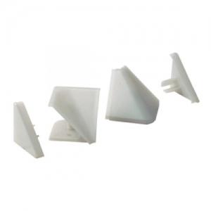 ПЛ-210 серый: Комп. загл. к треуг. ал.плин. ПЛ-202