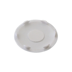 Заглушка для отверстия D-35 мм белая