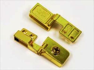 14.603 золото - Комплект стеклопетли (с защелкой)