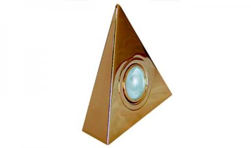 """Комплект SV.56 """"треугольник"""" из 1шт. золото"""