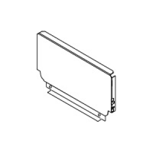 Задняя стенка Blum B ZB50(16)