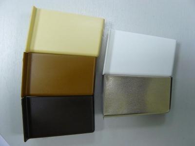 4031 - Заглушка для навеса CAMAR, ЛЕВАЯ алюминий