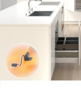 Электрическая система открывания для нижнего ящика Blum SERVO-DRIVE uno