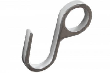 606 Хром - Крючок одинарный глухой