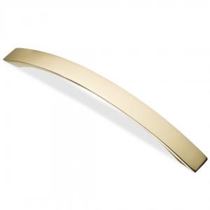 7114 Ручка скоба 160 мм золото