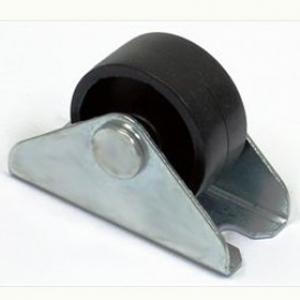Колесо: K-123 ролик откатной, черный