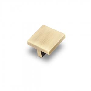 7163 Ручка кнопка 32 мм бронза