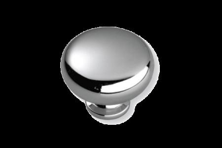 7204 Ручка кнопка хром