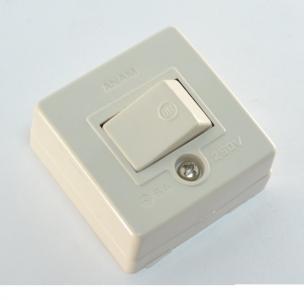 Выключатель SV.04 накладной одноклавишный