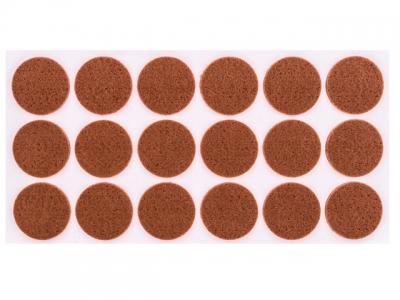 Войлок коричневый D-35 мм
