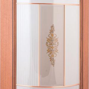 Фасад закругленный под стекло + штапик Наполи