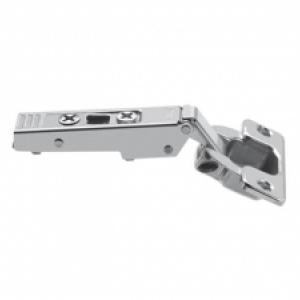 Петля Blum CLIP top без пружины, для TIP-ON, накладная, к узкой алюминиевой рамке (открывание 120°)