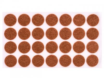 Войлок коричневый D-28 мм
