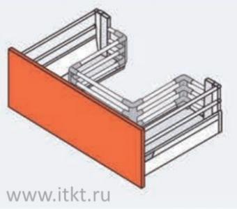 Ящик Blum TANDEMBOX под мойку M на угловых держателях (высота D)